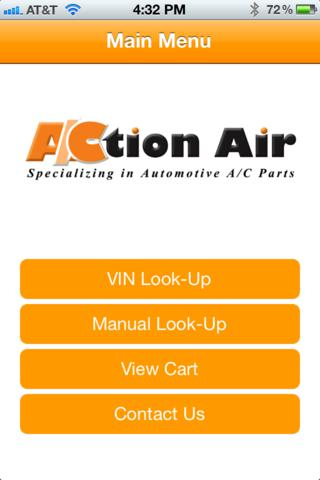 Action Air – VIN Barcode Scan